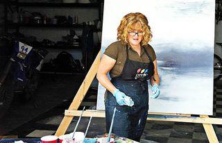 Heidi painting